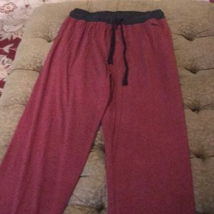 Puma men's knit PJ pant, size medium.